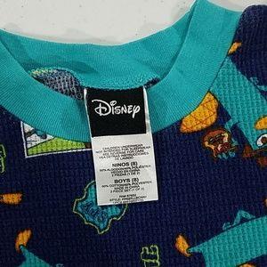 Disney Pajamas - Secret agent Thermal Underwear Long Johns